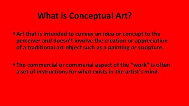 Conceptual art Slide 2