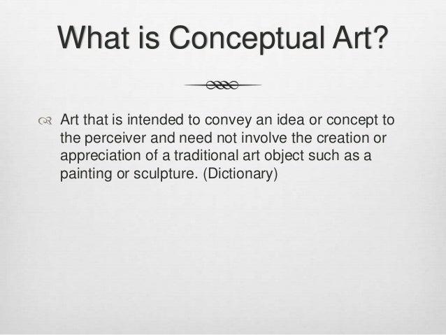 conceptual art presentation 1
