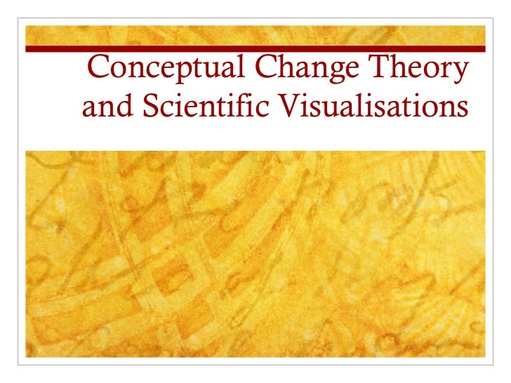 Conceptual Change Theory and Scientific Visualisations