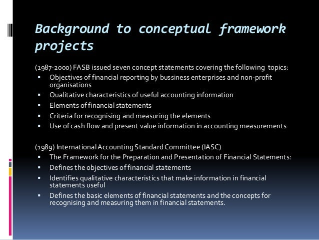 the new accounting conceptual accounting framework 224 - ♦ - accounting theory documents became available just prior to the fasb's conceptual framework project, they played an important role in its development.
