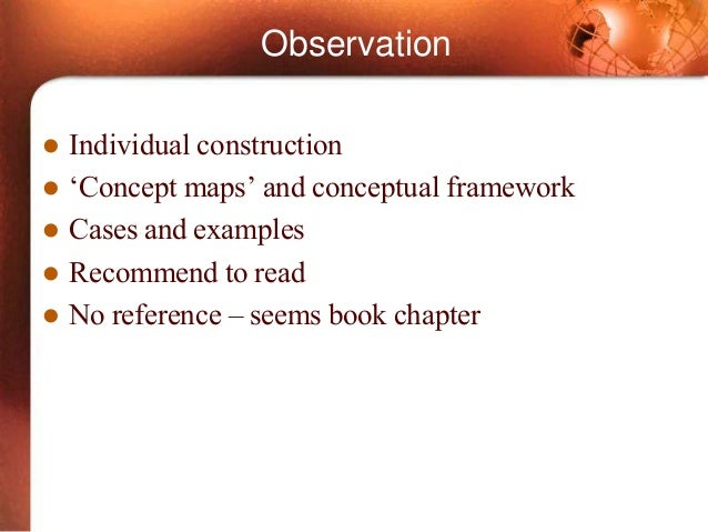 a conceptual framework for mathematical ability This article is the first of two that present a six‐part conceptual framework for the design and evaluation of digital libraries meant to support mathematics education in k–12 settings (see also pt 2).