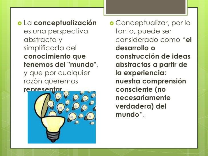 Conceptualización de ideas Slide 2