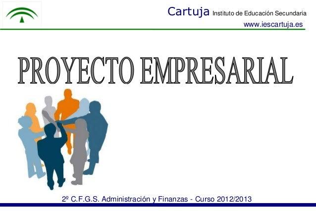Cartuja Instituto de Educación Secundaria                                                    www.iescartuja.es2º C.F.G.S. ...