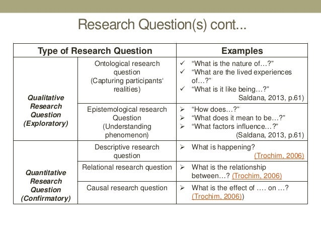 Qualitative and Quantitative Research Approaches