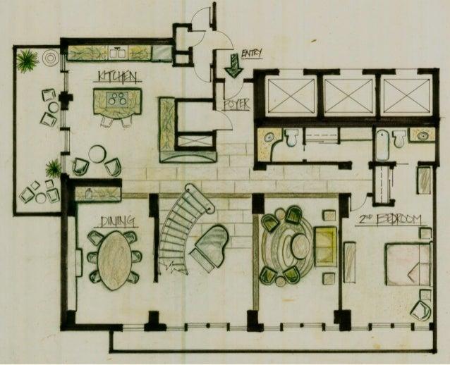 Loft Design Boards: First Floor Plan