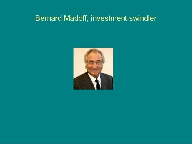 Bernie Madoff: an Issue of Ethics Essay