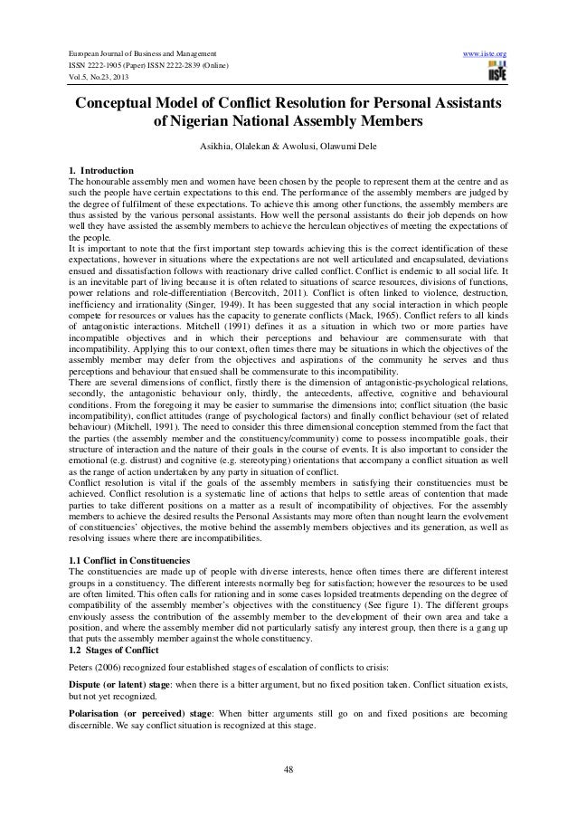 European Journal of Business and Management  www.iiste.org  ISSN 2222-1905 (Paper) ISSN 2222-2839 (Online) Vol.5, No.23, 2...