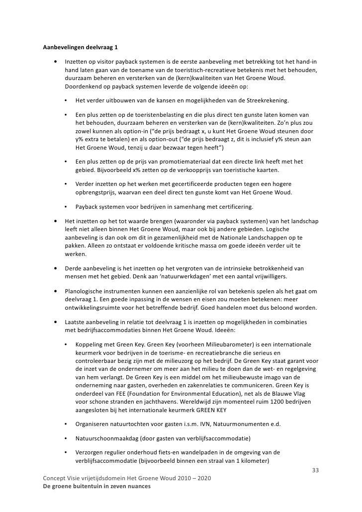 Concept visie vrijetijdsdomein het groene woud 2010 2020 - Ideeen buitentuin ...