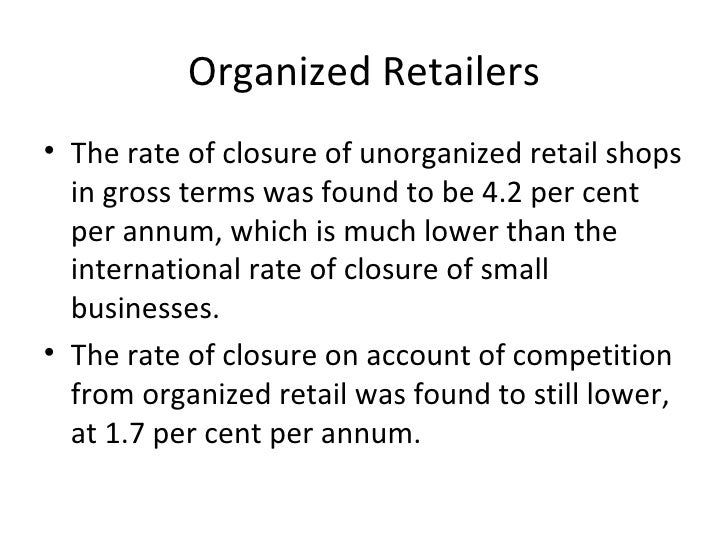 Fdi In Retail The Indian Retail Conundrum