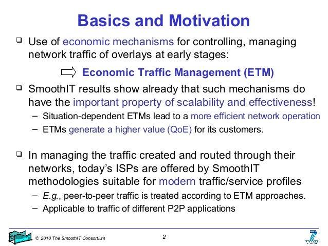 Economic Traffic Management (ETM) Mechanisms – Selected View Slide 2