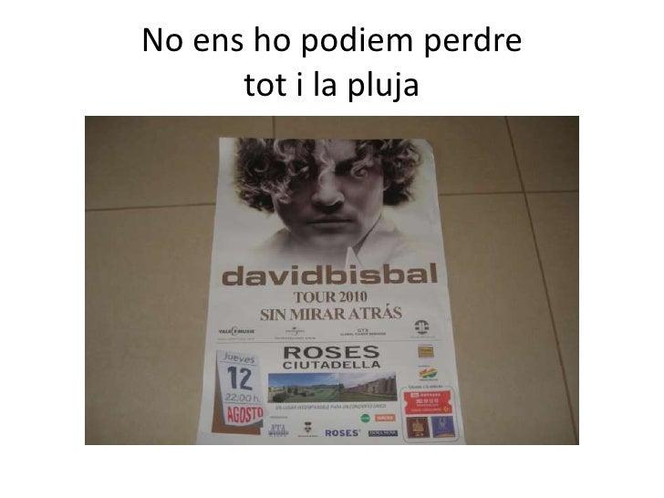Concert david bisbal Slide 2