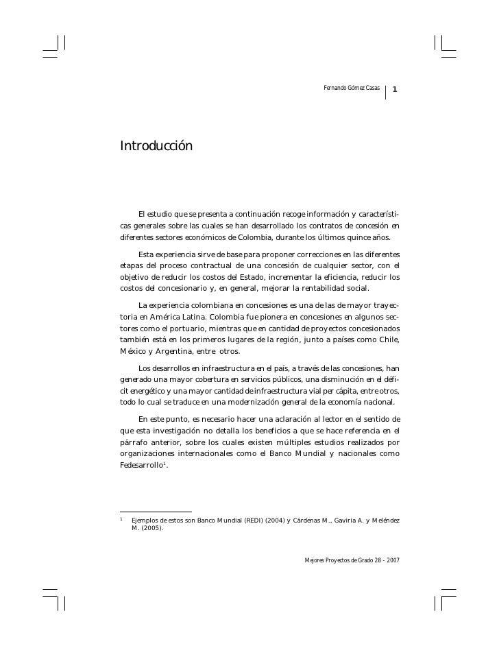 Fernando Gómez Casas      1     Introducción           El estudio que se presenta a continuación recoge información y cara...