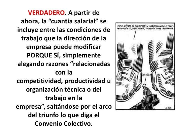 Reforma laboral test for Convenio oficinas tecnicas