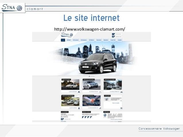 Volkswagen Clamart - Nouveau site internet de la concession STNA  Slide 3