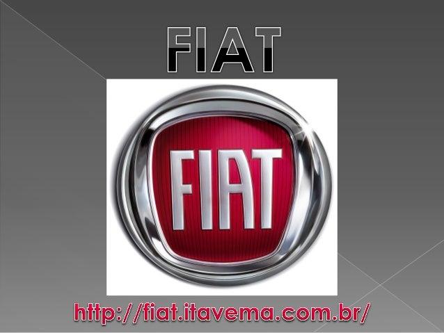 Fabricante italiana fundada em 1899, a FIAT é uma das mais importantes montadoras do mundo, com carros que marcaram o auto...