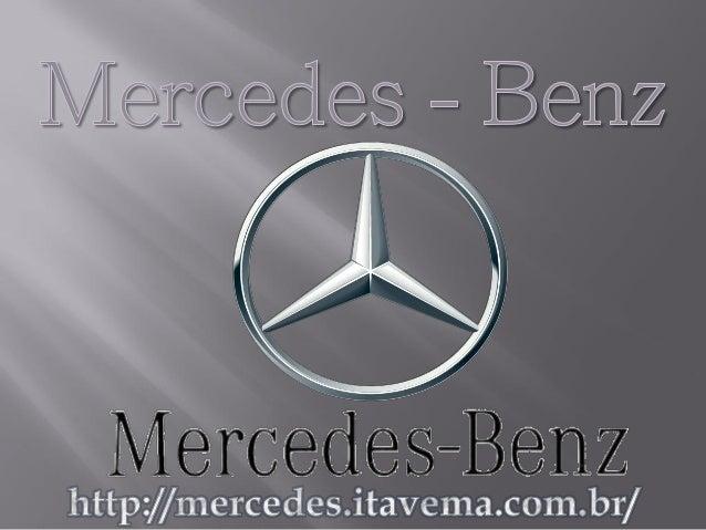 Ter um Mercedes–Benz é o sonho de consumo de qualquer pessoa do mundo, um veículo que representa toda qualidade, luxuosida...