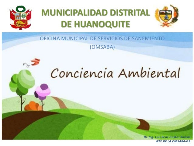 Conciencia ambiental for Oficina ing zaragoza