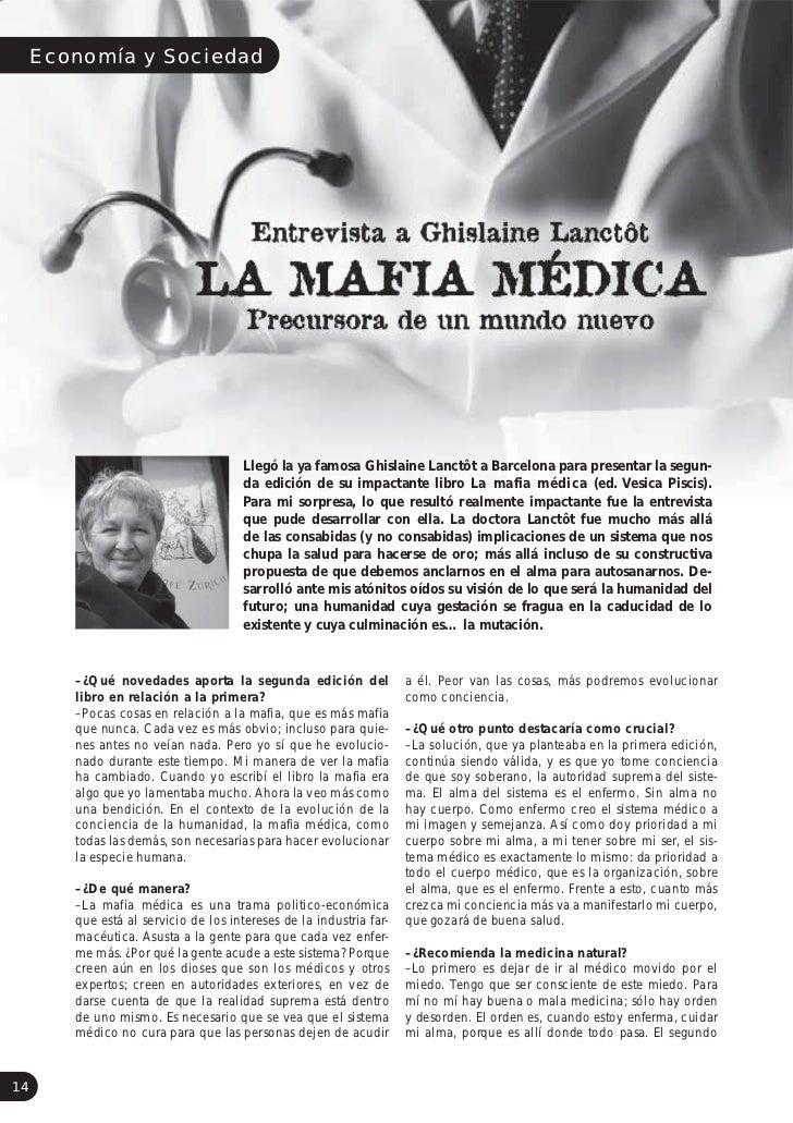 Economía y Sociedad                                    Llegó la ya famosa Ghislaine Lanctôt a Barcelona para presentar la ...