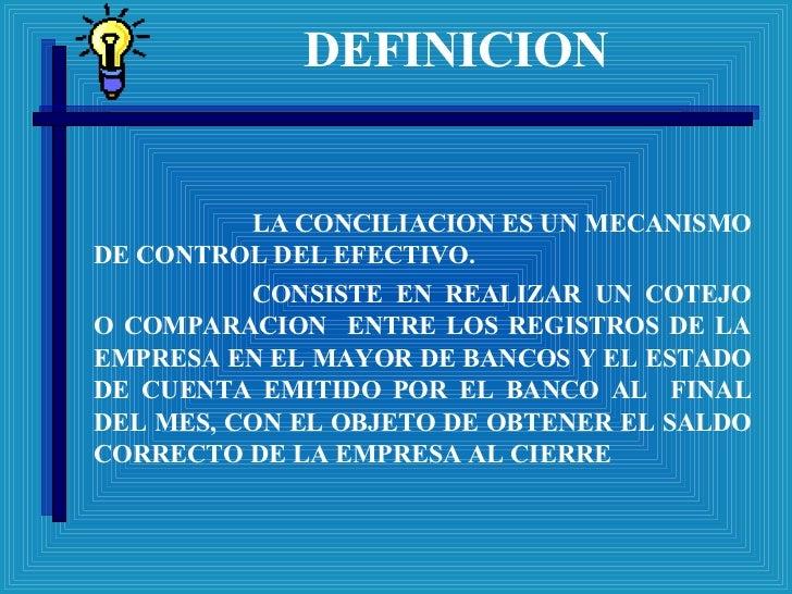 Conciliacionbancaria Slide 2