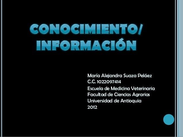 María Alejandra Suaza PeláezC.C. 1022097414Escuela de Medicina VeterinariaFacultad de Ciencias AgrariasUniversidad de Anti...