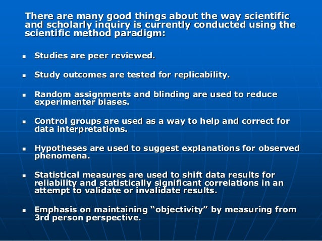 Consciousness Society: Validation of First and Second Person Methods for Inquiry. Slide 2