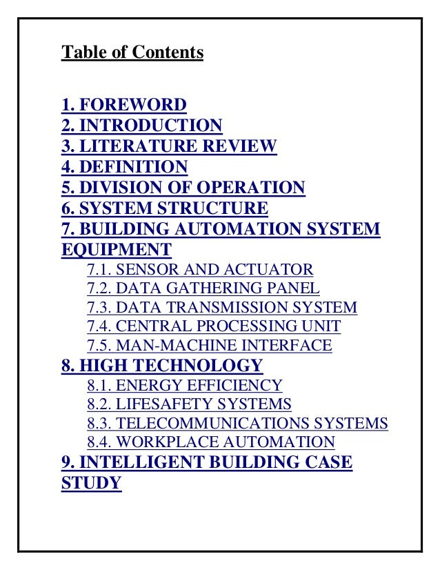 Concise Edition : BUILDING AUTOMATION SYSTEM Slide 2