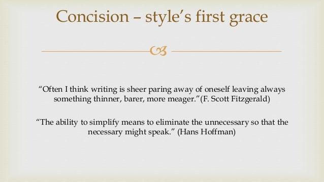 Concision Slide 2