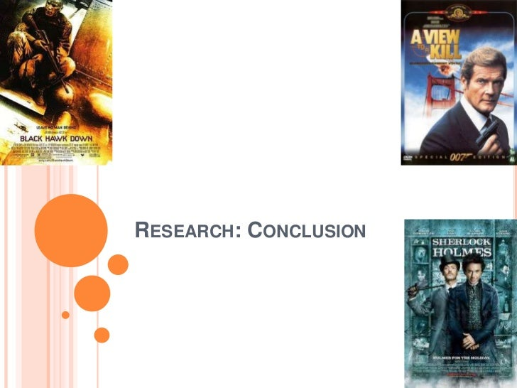 RESEARCH: CONCLUSION