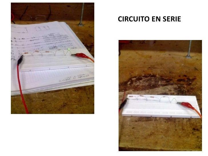CIRCUITO EN SERIE<br />