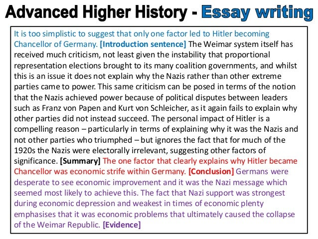 advanced higher history essays Titus character growth essay nuclear advanced higher history essay help fusion professional term paper writing service begins in the sun britain-issue-1-essay-help britain-paper-1-study-notes.