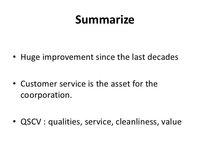 Essay on good customer services