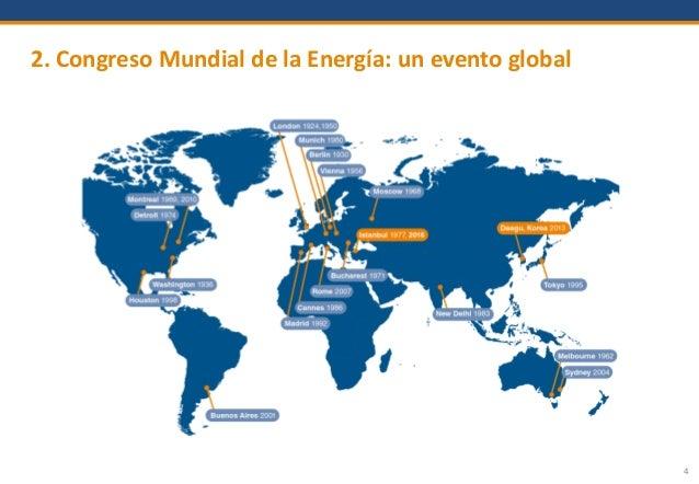 4 2. Congreso Mundial de la Energía: un evento global