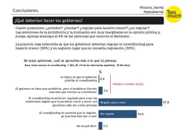 @luismi_barral @pepabarral Conclusiones. ¿Qué deberían hacer los gobiernos? Cuatro posiciones: ¿prohibir? ¿limitar? ¿regul...