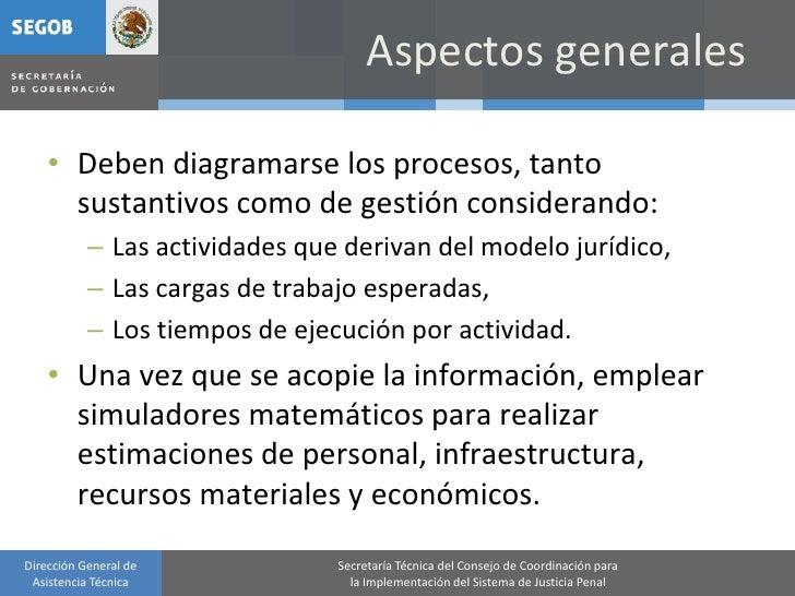 Aspectos generales      • Deben diagramarse los procesos, tanto       sustantivos como de gestión considerando:           ...