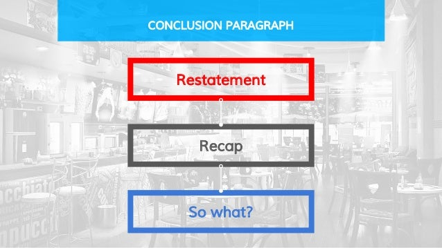 elements of an essay conclusion Let's look at the elements that form argumentative essays, and some tips  your  conclusion paragraph should neatly wrap up your argument.