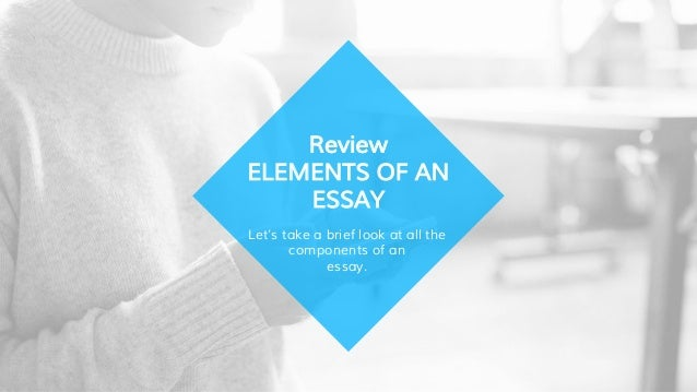 Global Warming Essay Thesis  Lets Take A Brief Look At All The Components Of An Essay My School Essay In English also Narrative Essay Examples For High School Elements Of An Essay Conclusion Paragraphs Business Format Essay