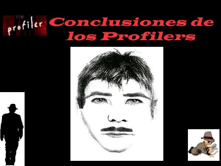 Conclusiones de  los Profilers
