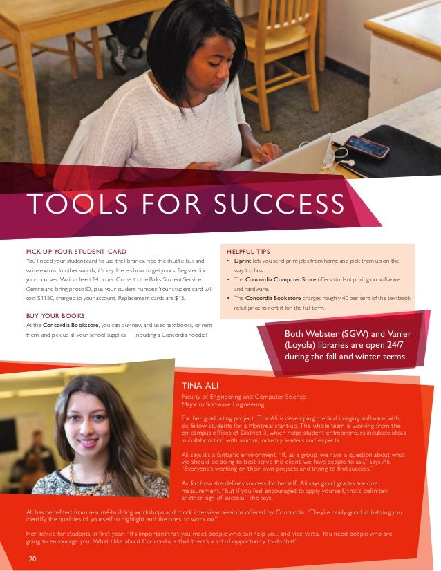 Concordia university-guide firstyear