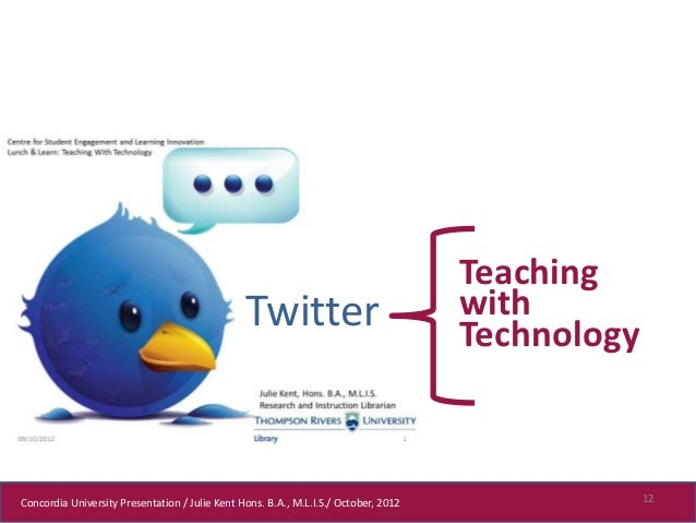 Teaching                                                Twitter                              with                         ...