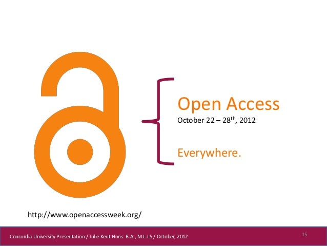 Open Access                                                                             October 22 – 28th, 2012           ...