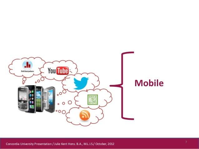 Mobile                                                                                              7Concordia University ...