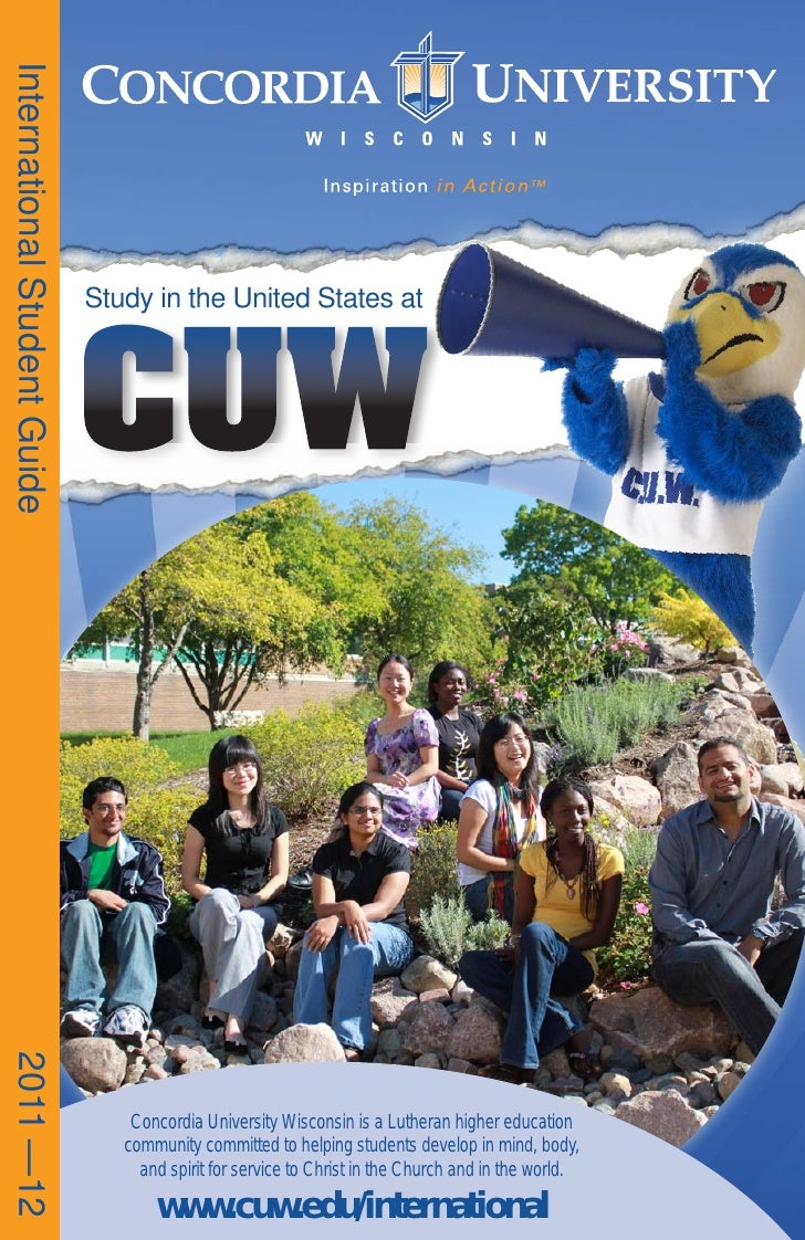 International Student Guide                              CUW                              Study in the United States at201...