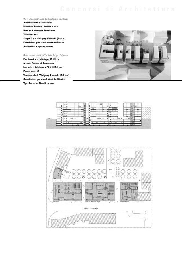Concorsi wettbewerbe for Concorsi di architettura