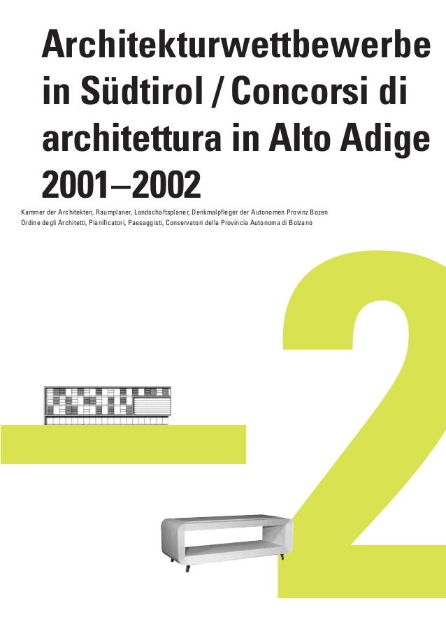 AKA_Quaderno0102  10.12.2003  7:36 Uhr  Seite 1  Architekturwettbewerbe in Südtirol / Concorsi di architettura in Alto Adi...
