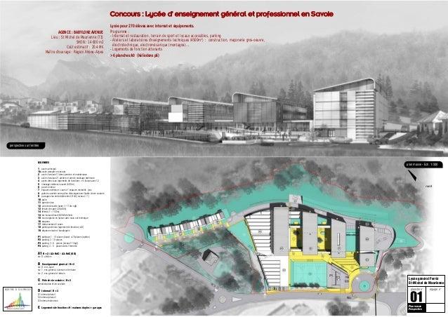 Co ncours : Lycée d enseignement général et professio nnel en Savoie                                                      ...