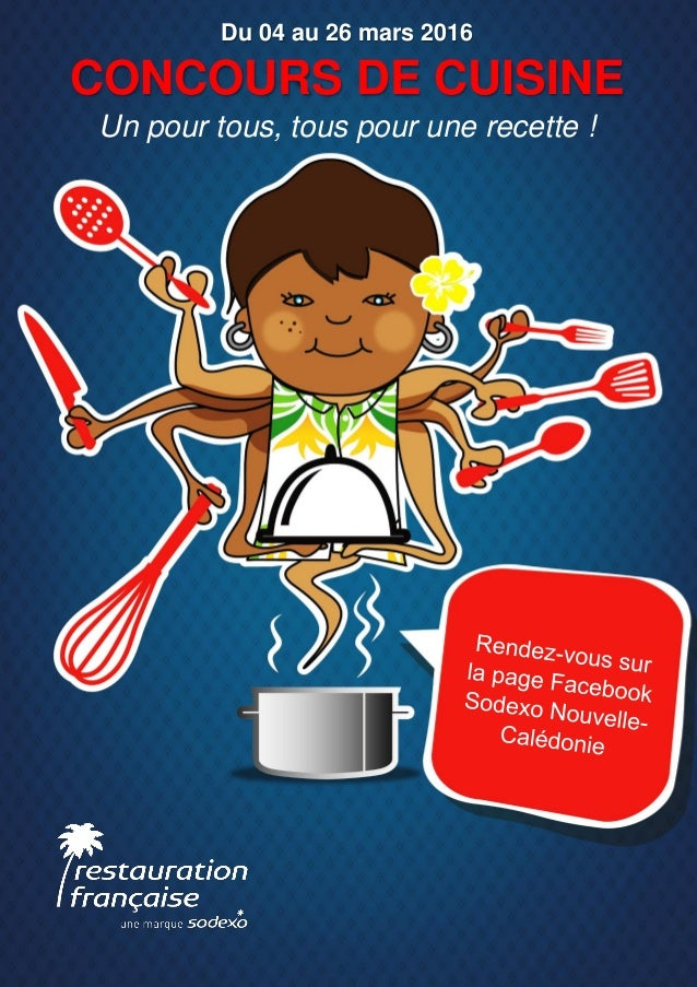 concours de cuisine un pour tous, tous pour une recette !