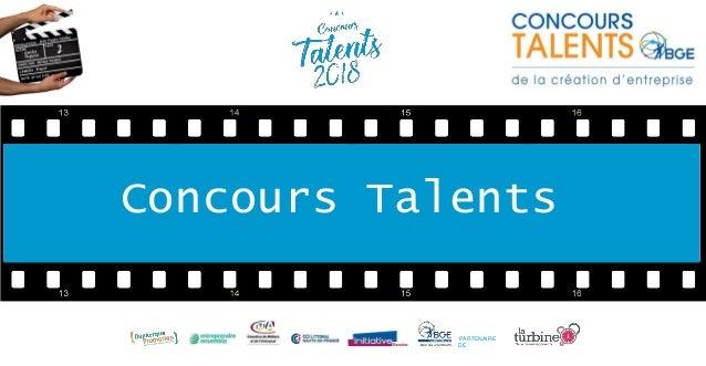 Concours Talents PARTENAIRE DE :
