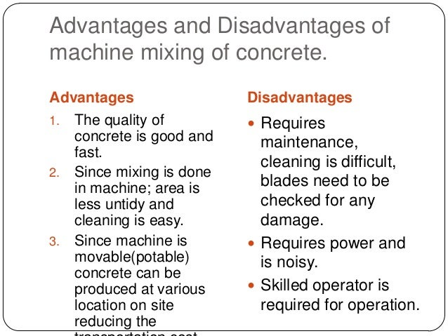 advantages and disadvantages of cement industry Home demerits of cement manufacturing process advantages and disadvantages of wet cement in cement manufacturing industry cement advantages and.