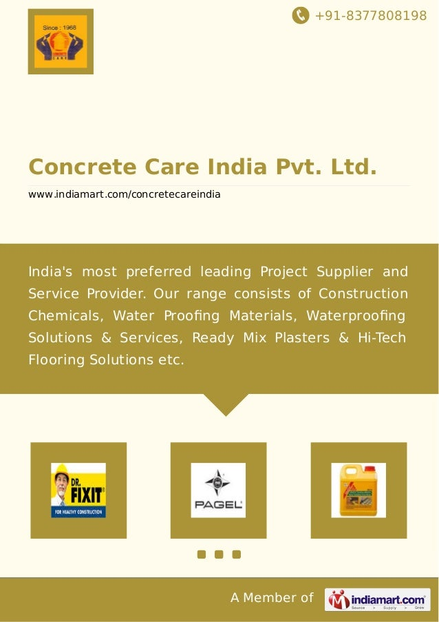 Concrete care india pvt ltd mumbai building for Tile decor international pvt ltd