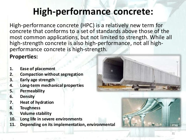 hpc high performance concrete Conservative for hpc with high compressive strengths high-strength concrete girders incorporating the knowledge that girder performance will be.